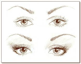 Макияж глаз 04