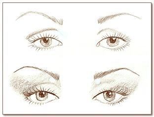 Макияж глаз 07