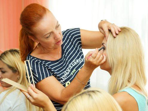 Обучение макияж