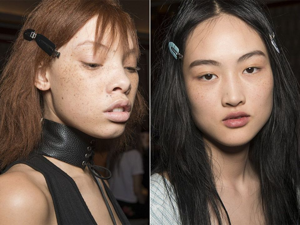 Тренд 6 – Веснушки результат работы мастеров макияжа