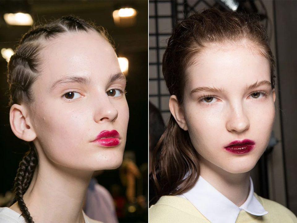 Тренд 4 - Вишневый цвет на губах