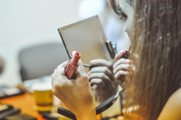На курсах макияж для себя в Beauty School Одесса 16-06-2016
