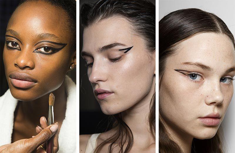 макияж глаз 2019