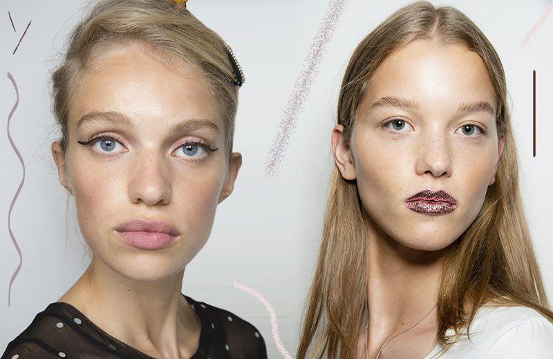 В тенденциях макияжа весна - лето 2019