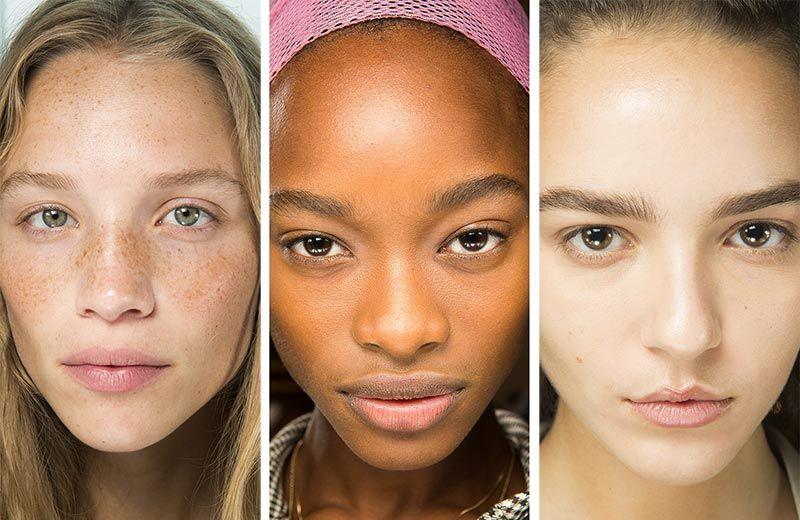 Лучшие образцы чистой кожи