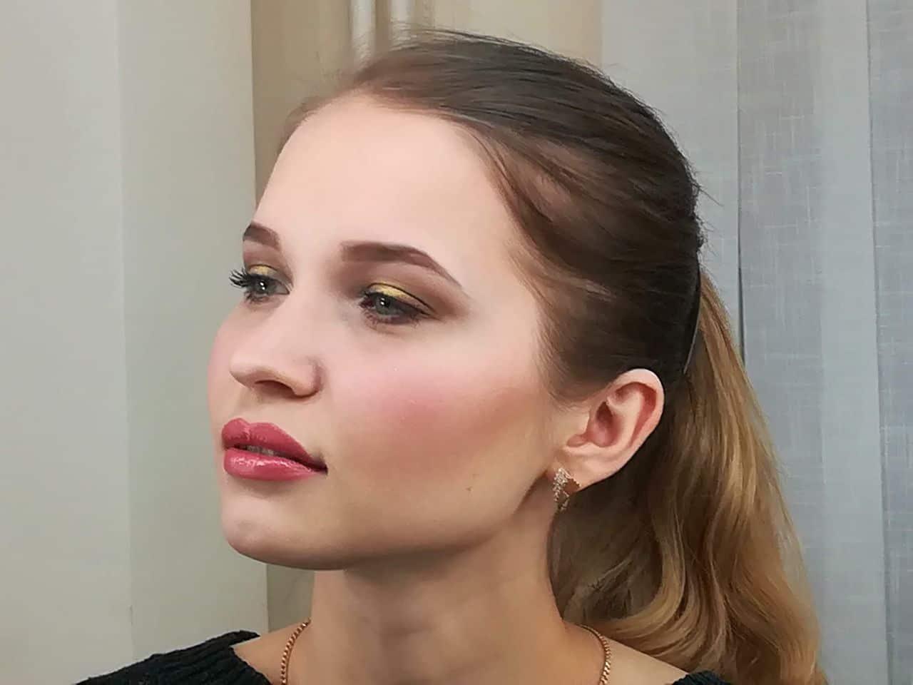 Деловой макияж 06
