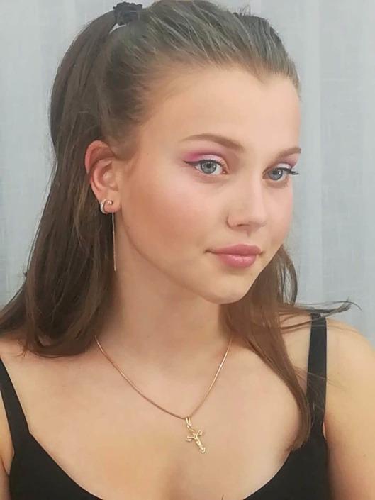 Подростковый макияж 03