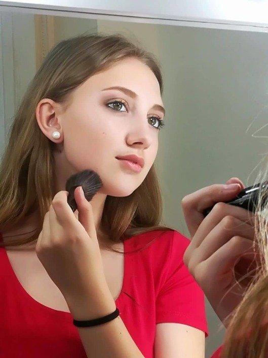 Подростковый макияж 14