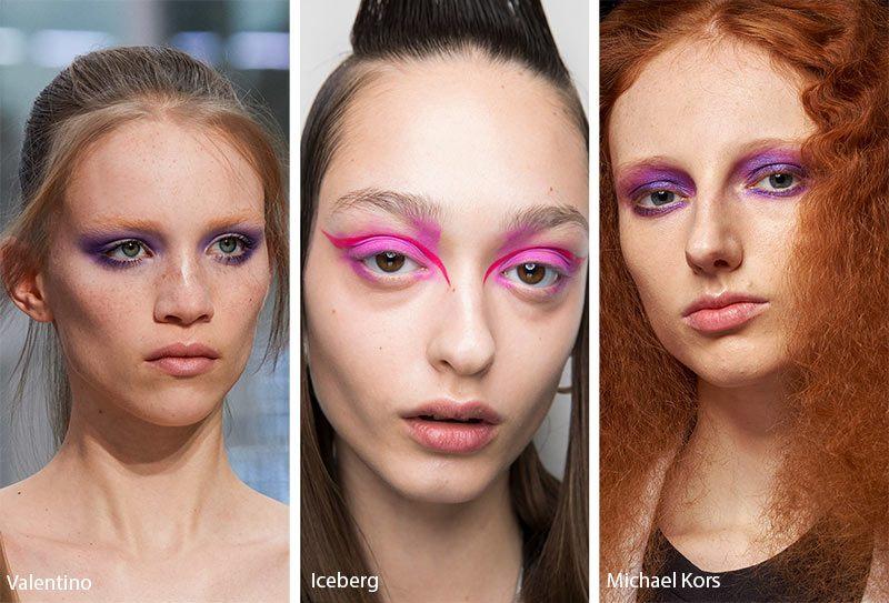 Розовый и фиолетовый